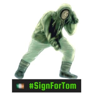 #SignForTom Lapel Pin Badge