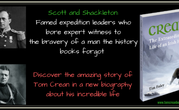 Tom Crean Book - Crean The Extraordinary Life of an Irish Hero