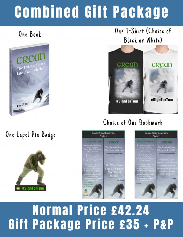 Tom Crean Products Christmas Gift Package