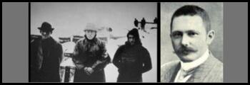 Thoralf Sorle, Tom Crean and Ernest Shackleton