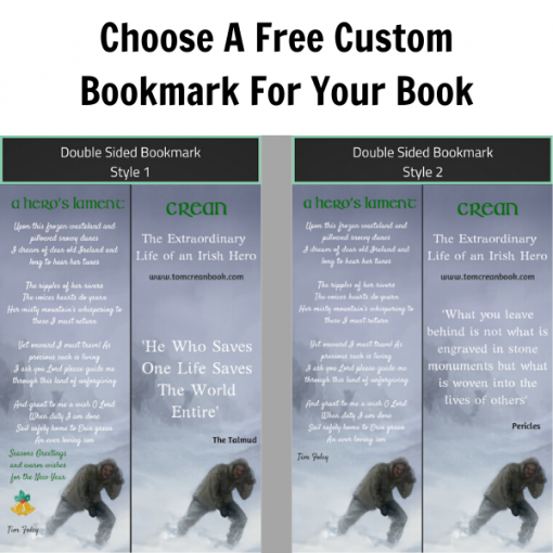 Free bookmark with every book