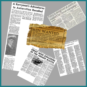 Tom Crean related News clippings