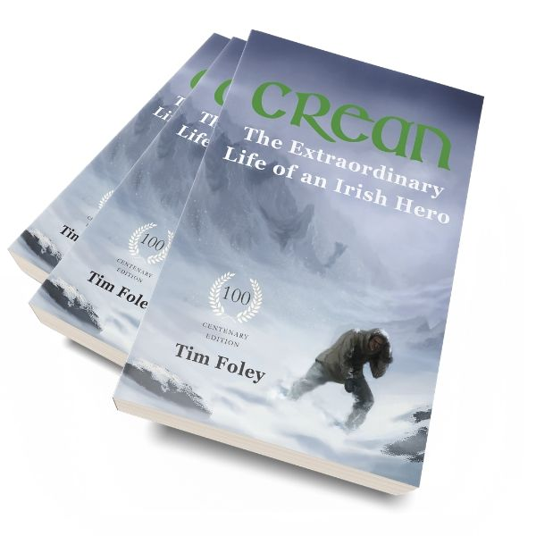 Buy a signed copy of Tom Crean Biography