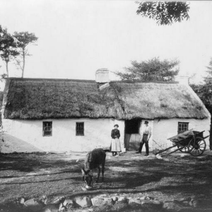 A cottage similar to one in which Tom Crean was born