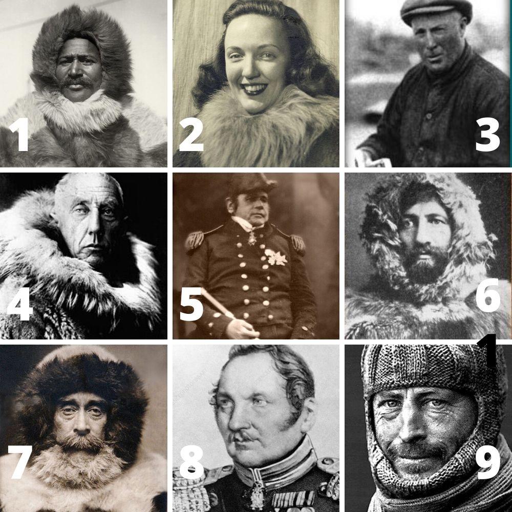 The Really Hard Polar History Quiz Tom Crean Book