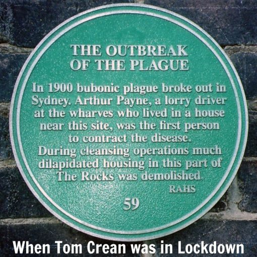 When Tom Crean was in Lockdown - Sydney 1900