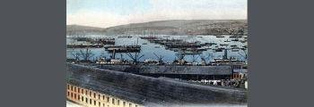 British Navy Base at Valparaiso