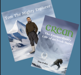 Tom Crean Books For Children and Adults