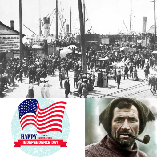 Tom Crean In Seattle July 4th 1897