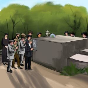 Tom Crean's Funeral and his tomb