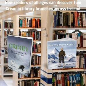 Both titles now available in library branches across Ireland